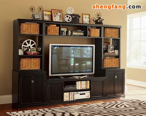 及板式结构,但现在新材料不断出                    的新型电视柜.