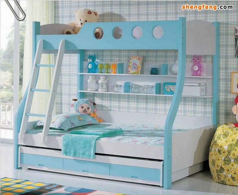 如果您想选一张能够满足孩子各个时期需要的儿童床,那么选择那种床头