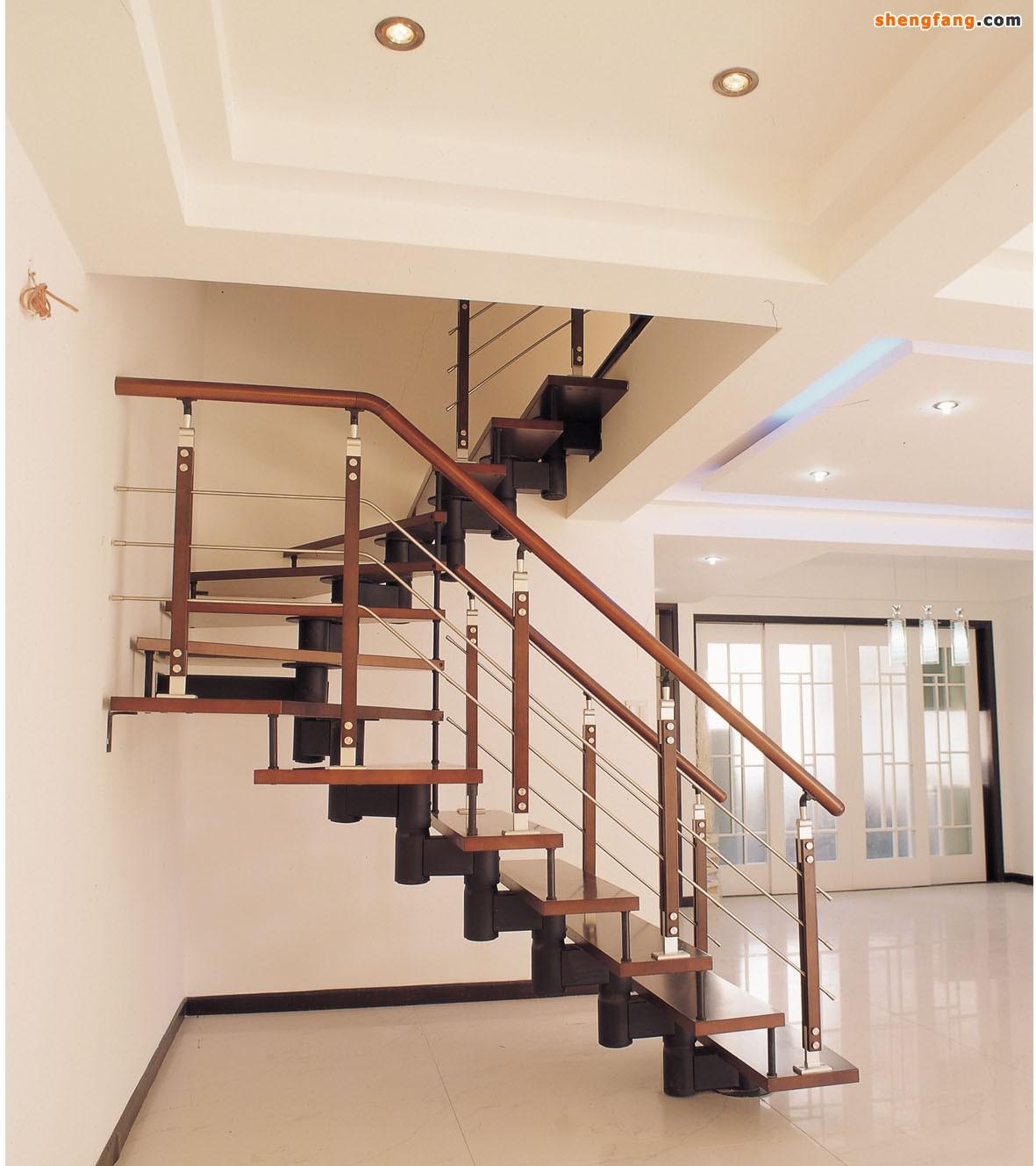 室内木楼梯价格及图片