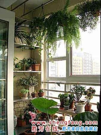 阳台装修效果图大全:开放式的阳台设计