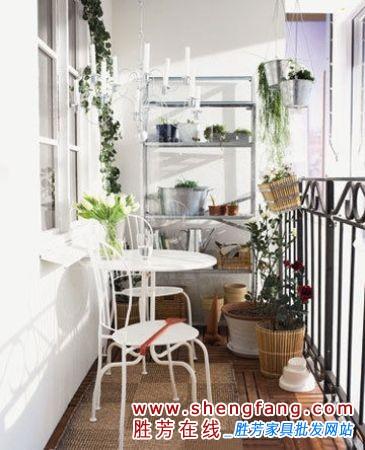 阳台装修效果图大全:小阳台也可以有自己的小空间