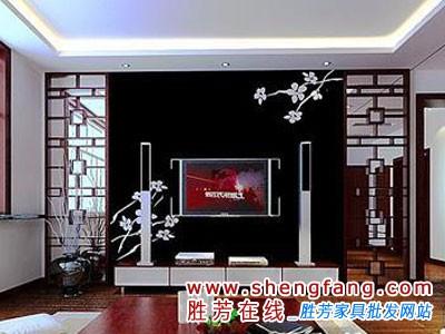 中式客廳 融合中國風裝修效果圖,家裝效果,家具資訊
