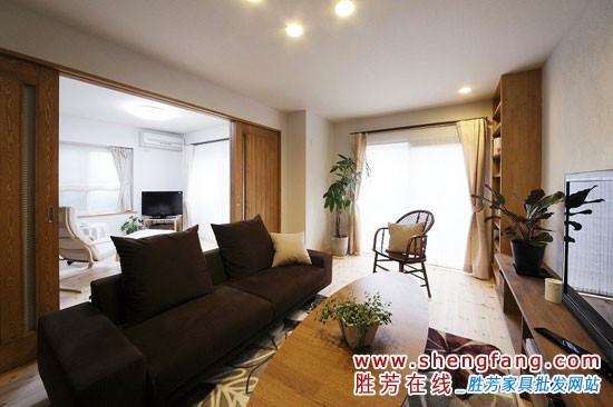 60平米日式客厅魅力展示