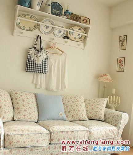 小户型客厅装修图
