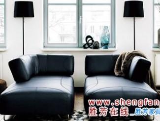 沙发区也可以设置有一主一次两个中心.即在客厅中间摆放转