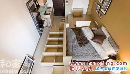 26平米超小户型单身公寓装修方案
