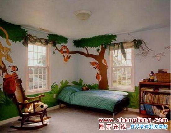 森林主題兒童房設計方案
