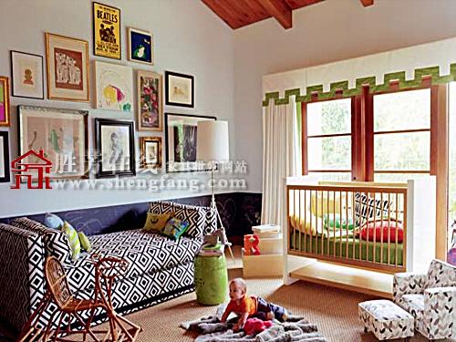 男孩子喜欢的青少年儿童房设计