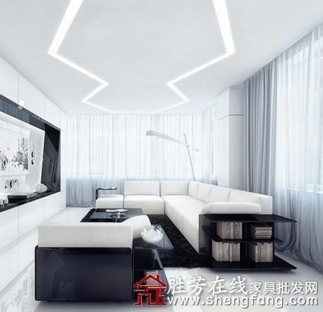 2013最新客厅天花板装修效果