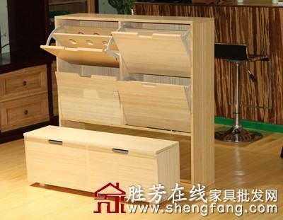 木材创意鞋柜图片