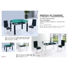 胜芳玻璃餐台_胜芳玻璃餐台批发_鑫飞扬玻璃餐台