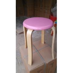 彩色曲木凳系列
