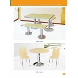 胜芳曲木桌椅 钢木餐桌批发 新龙家具系列