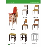 胜芳钢木餐椅   钢木餐椅批发  新龙家具系列