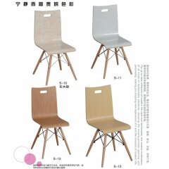 厂家供应曲木椅 快餐椅 饭店椅 食堂椅 麦当劳椅