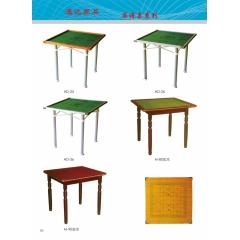 厂家供应麻将桌 简易麻将桌 优乐娱乐麻将桌