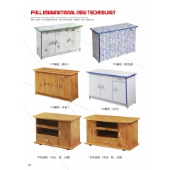胜芳橱柜 简易橱柜 木质橱柜批发 森佳家具厂