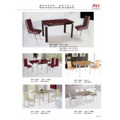 胜芳抽拉抬  餐桌椅  组合桌吉利家具