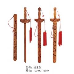 优乐娱乐桃木剑 辟邪桃木剑 桃木剑优乐娱乐 长松酒店家具
