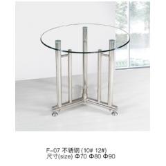 优乐娱乐咖啡台  铁艺玻璃咖啡台优乐娱乐 高宏家具