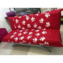 优乐娱乐沙发床 两用沙发 布艺沙发优乐娱乐 高宏家具厂