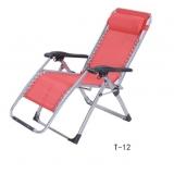 T12折叠椅 胜芳折叠椅 躺椅 沙滩椅 午休椅 午睡椅 阳台椅 便携椅 陪护椅 休闲椅 可折叠椅批发  好牛家具 休闲家具 休闲类家具 户外家具 老人家具