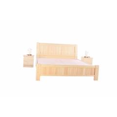 A-09优乐娱乐双人床 实木双人床 板床 木质床优乐娱乐 柏丽达家具厂 卧室家具