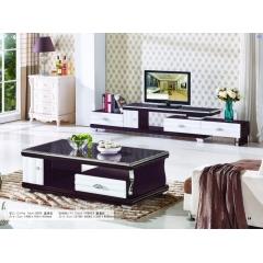 胜芳家具 板式茶几 理石茶几  电视柜  大富豪家具 客厅家具