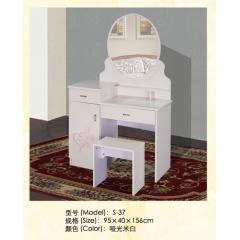S-37优乐娱乐梳妆柜 梳妆台 梳妆桌 化妆柜 化妆台 化妆桌 板式梳妆台优乐娱乐 正大家具 卧室家具