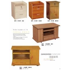 胜芳床头柜 储物柜 收纳柜 简约床头柜 欧(中 韩)式储物柜 卧室家具批发  强盛家具