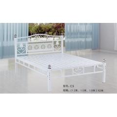 C5 优乐娱乐单人床 双人床 铁艺床 板床 金属床 龙骨床 排骨床 铁艺床 钢架床优乐娱乐 康达床业 卧室家具