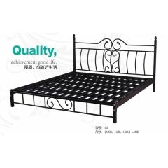 C3 优乐娱乐单人床 双人床 铁艺床 板床 金属床 龙骨床 排骨床 铁艺床 钢架床优乐娱乐 康达床业 卧室家具