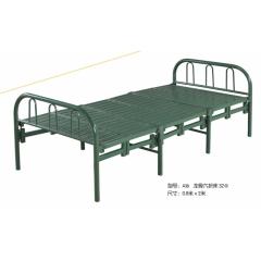 A16 龙骨六折床 32Φ 优乐娱乐折叠床 简易床 午休床 四折床 单人床 陪护床 铁艺床 单人床优乐娱乐 康达床业 卧室家具
