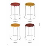 胜芳凳子 铁腿凳子 不锈钢凳子 套凳 休闲凳 圆凳批发 欧瑞家具厂 简易家具