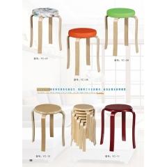 优乐娱乐凳子 木质凳子 木腿凳子 休闲凳 时尚凳优乐娱乐 颖超家具厂 简易家具