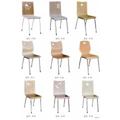 曲木椅 快餐椅 餐厅椅 钢管椅 餐椅 曲木餐椅 餐厅家具 曲木家具