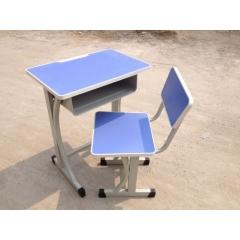 月牙固定课桌椅