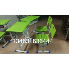塑料环保双人课桌椅  学生课桌椅 厂家定制课桌椅