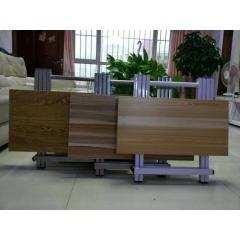 折叠桌方圆折叠桌手提桌木纹 吸塑