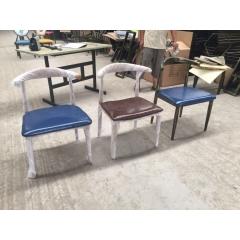 胜芳牛角椅 休闲椅 咖啡椅批发 中庆德牛角椅批发