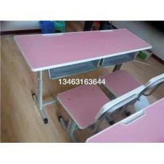 双人课桌椅  学生课桌椅 厂家定制课桌椅