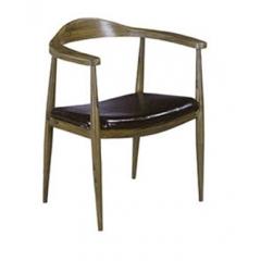 优乐娱乐主题时尚桌椅 酒店软包椅 设计师椅子 实木腿椅子优乐娱乐 鑫欧骏家具