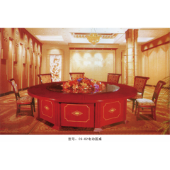 CS-02电动圆桌  优乐娱乐酒店桌  长松酒店家具
