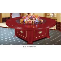 手动圆桌CS-02  优乐娱乐酒店桌  长松酒店家具