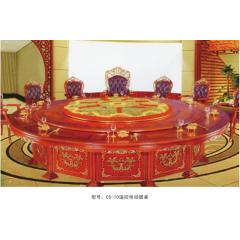 CS-10遥控电动圆桌   优乐娱乐酒店桌  长松酒店家具