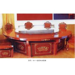 CS-11遥控电动圆桌   优乐娱乐酒店桌  长松酒店家具