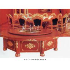 CS-06喷泉遥控电动圆桌   优乐娱乐酒店桌  长松酒店家具