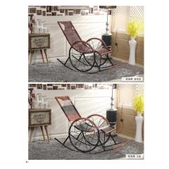 摇椅 藤制摇椅 老人摇椅 午睡藤椅 阳台摇椅 躺椅 摇摇椅 逍遥椅 老人家具 户外家具 休闲家具 藤制家具