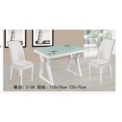 餐桌 不锈钢餐桌 不锈钢餐台 时尚餐桌 不锈钢餐桌组合 时尚简约餐桌 餐厅家具 欧式家具 餐厨家具