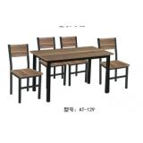 快餐桌椅 钢木餐桌 钢木餐桌椅 食堂餐桌 饭店餐桌 小吃店餐桌 学校餐桌 钢木家具 酒店家具 餐厨家具 恒隆家具